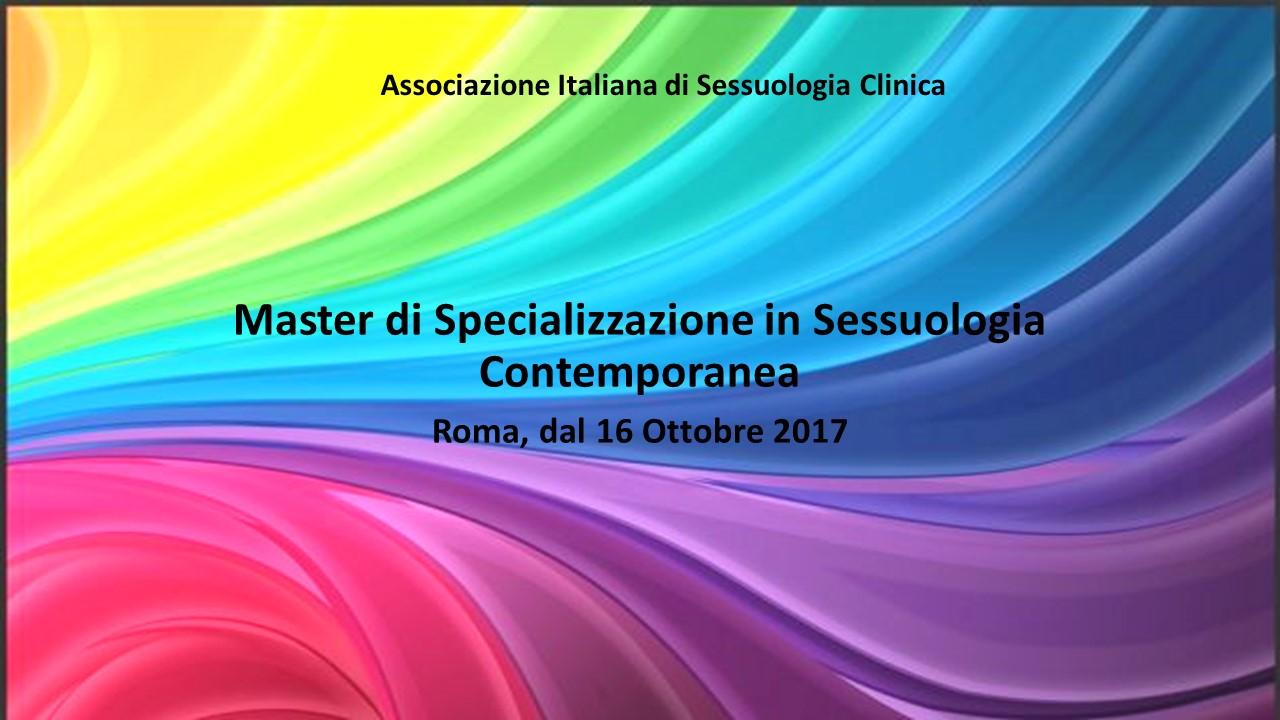 Master di Specializzazione in Sessuologia Contemporanea
