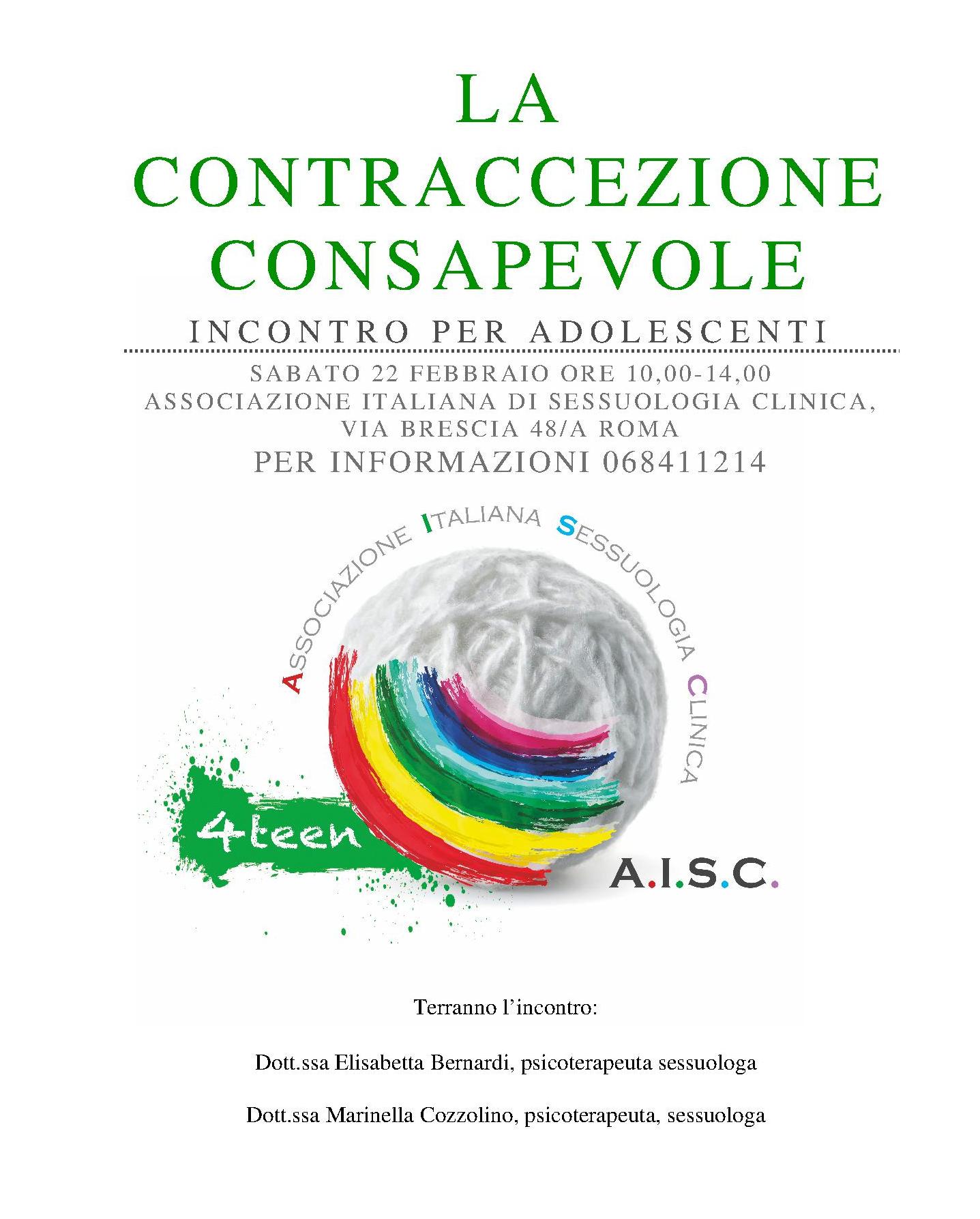 La contraccezione consapevole